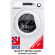 Ebac AWM74D2H-WH Super Silent Washing Machine 7kg, 1400 Spin **HOT & COLD FILL**