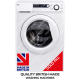 Ebac AWM86D2-WH Super Silent Washing Machine 8kg, 1600 Spin **MADE IN BRITAIN**
